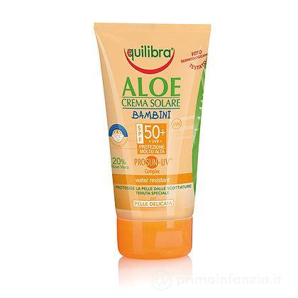 Crema Solare Aloe Bambini SPF 50+