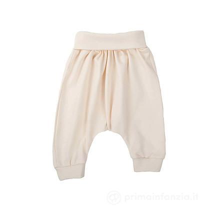 Baby Pantaloni in Cotone Ecru