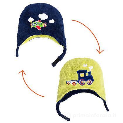 Cappello Treno/Aereoplano 6m-3 anni