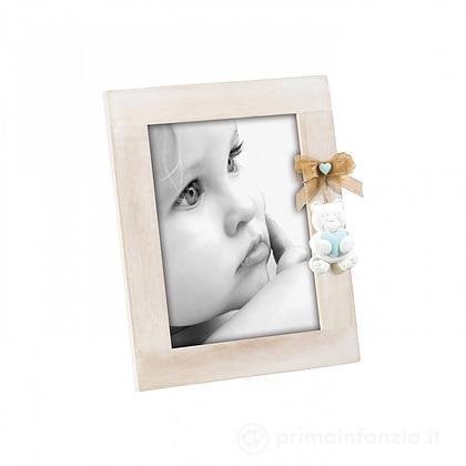 Cornice Portafoto Celeste 10 x 10 cm