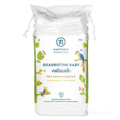 Quadrotti Baby Cotone Bio 60 pz