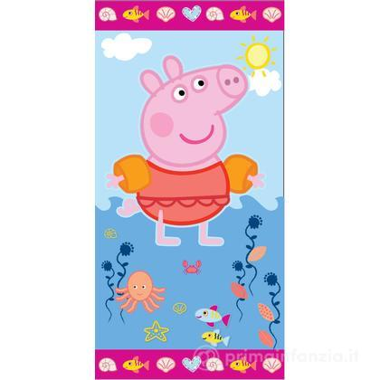 Telo mare in spugna Peppa Pig