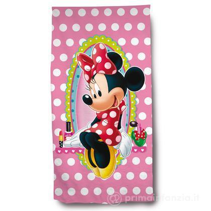 Asciugamano spugna velour Minnie