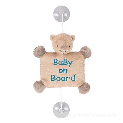 Segnale Auto Baby on board Orso Basile