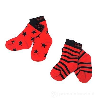 Calzini Red e Black 2 paia