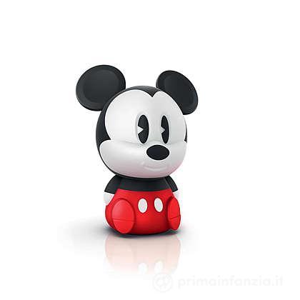 Lucina da notte LED Mickey SoftPal portatile