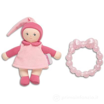 Bambola Mini Miss e massaggiagengive rosa