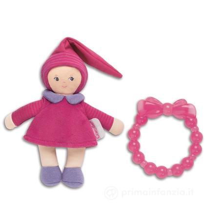 Bambola Mini Miss e massaggiagengive fucsia