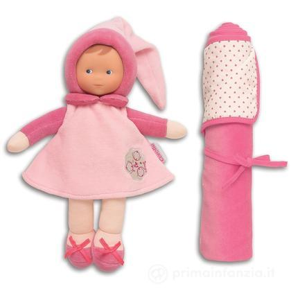 Bambola Miss rosa e copertina