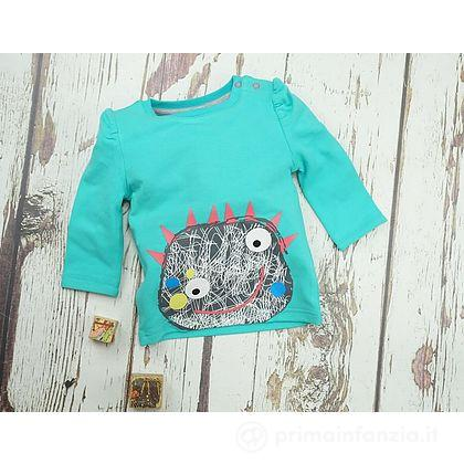 Maglia manica lunga Messy Monster