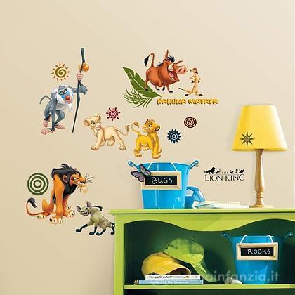 Adesivi murali rimovibili The Lion King