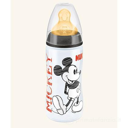 Biberon Disney Mickey Mouse in lattice 300 ml foro L
