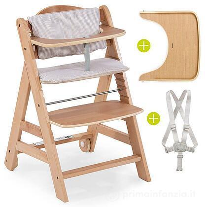 Seggiolone in legno Beta +