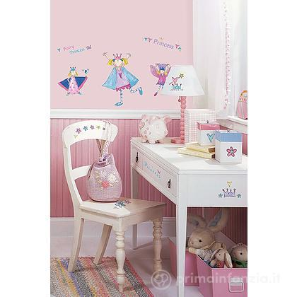 Adesivi murali rimovibili Fairy Princess