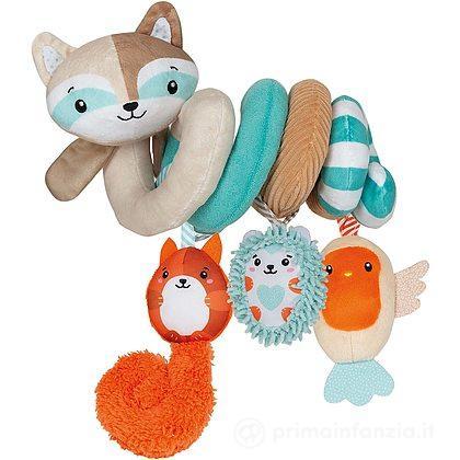 Gioco Spirale Passeggino Happy Animals