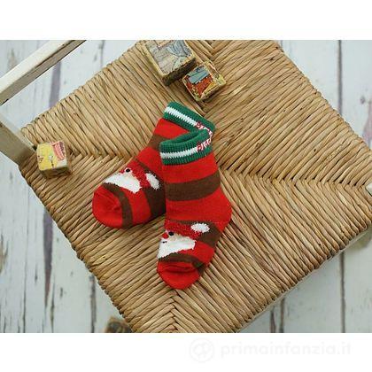 Calzini Natale Santa 1 paio