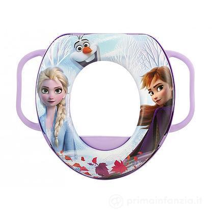 Riduttore WC soft con manici Frozen 2