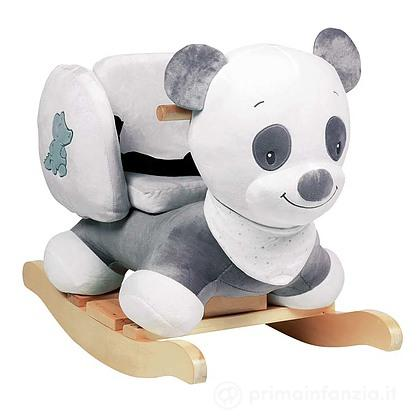 Asinello A Dondolo Nattou.Dondolo Loulou Panda