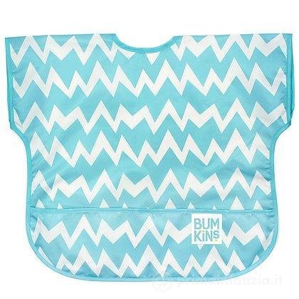 Grembiulino con maniche corte 1-3 anni Blue