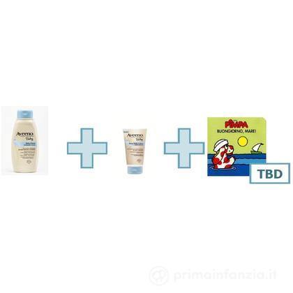 Detergente Baby + crema idratante + libretto Pimpa