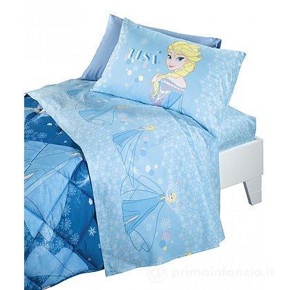 Completo lenzuola Frozen Elsa