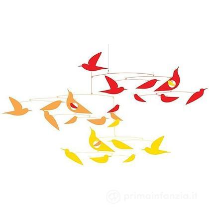 Giostrina di carta Uccellini