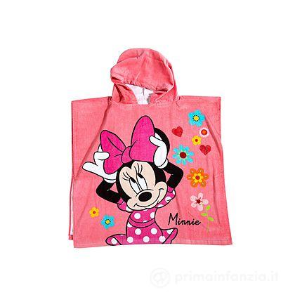 Accappatoio Poncho Minnie Flowers