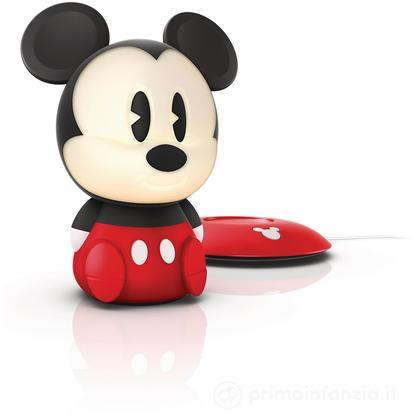 Lucina da notte LED Mickey Mouse SoftPal portatile