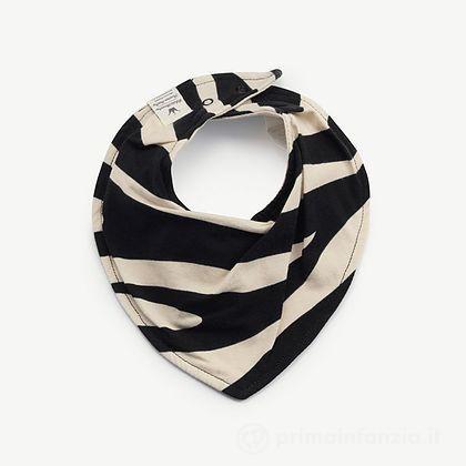 Bavaglino Triangolino Zebra Sunshine