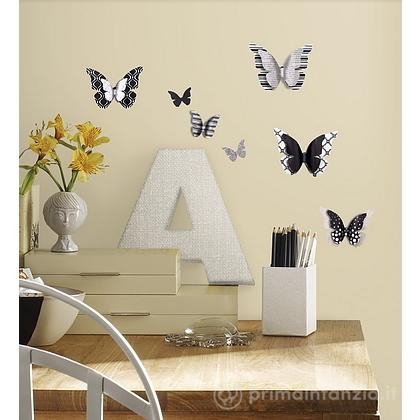 Adesivi murali rimovibili 3D Butterfly