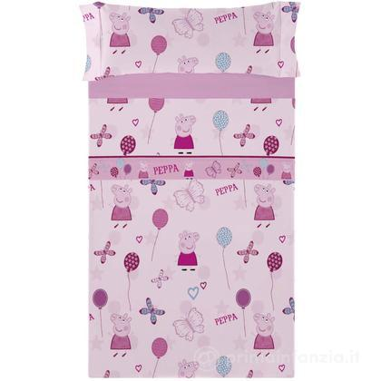 Completo letto Peppa Pig - Butterfly