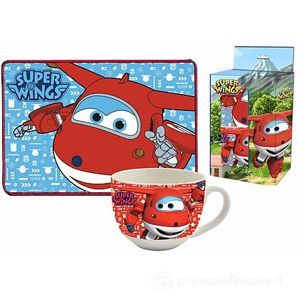Set tovaglietta e tazza Super Wings