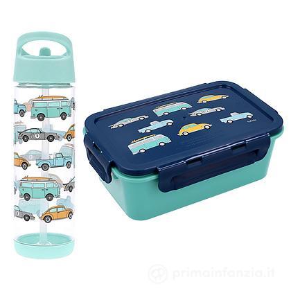 Set Bento Box Minivan + Borraccia 500 ml