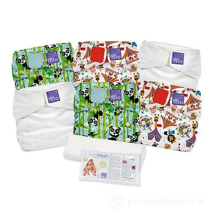 Set Pannolini lavabili Miosolo Nappy Set