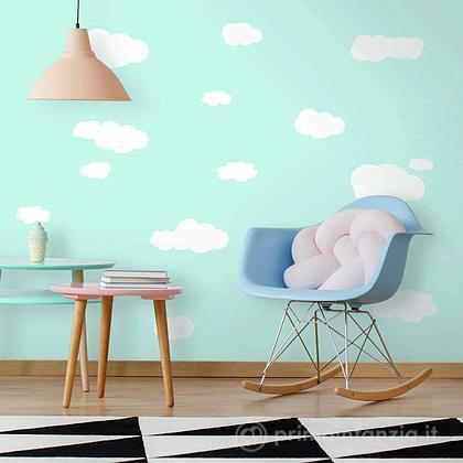 Adesivi murali rimovibili Clouds
