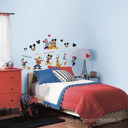 Adesivi murali rimovibili Mickey e Friends