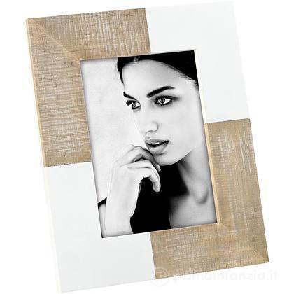 Cornice Portafoto in Legno Bianco 13x18 cm