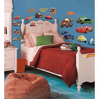 Adesivi murali rimovibili Cars Piston Cup Champions