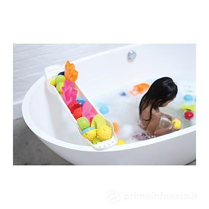 Porta giochi per vasca da bagno estensibile