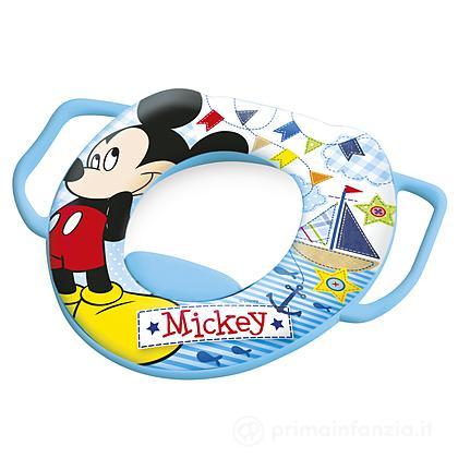 Riduttore WC soft con manici Mickey
