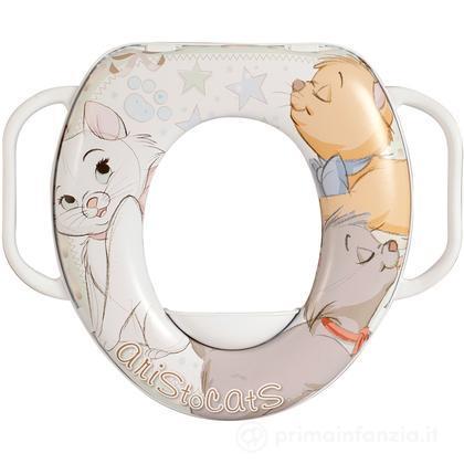Riduttore WC soft con manici Aristogatti