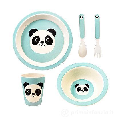 Set Pappa in Bambù Miko The Panda