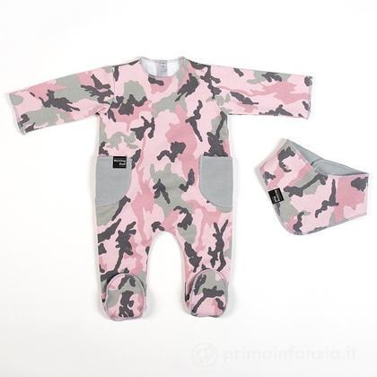 Set pigiama con bandana Camouflage