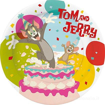 10 Piatti di carta Tom e Jerry