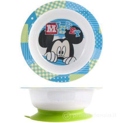 Piatto fondo Mickey con ventosa