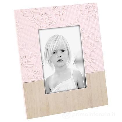 Cornice Portafoto in Legno 10x15 cm Rosa
