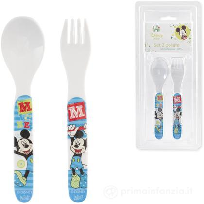 Set 2 posate Mickey