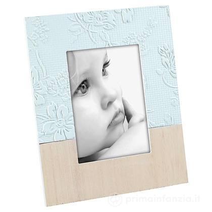 Cornice Portafoto in Legno 10x15 cm Azzurro