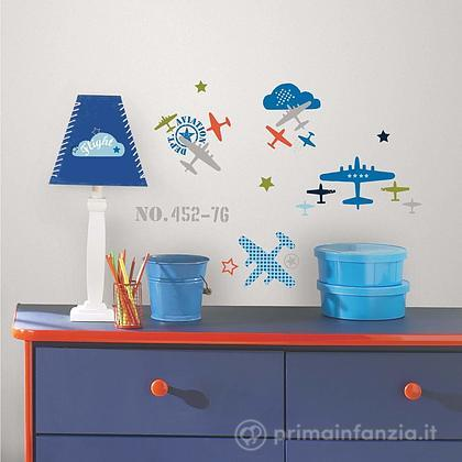 Adesivi murali rimovibili Zutano Aviation