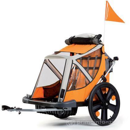 Carrello bici portabambino B-Travel cabrio